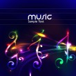 Abstract music background — Stock Vector #11813437