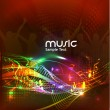 Royalty-Free Stock Vector Image: Abstract music background