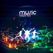 Abstract music background — Vector de stock #11813476