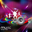 Abstract music background — Stock Vector #11813493