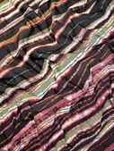 Striped fabric — Stock Photo