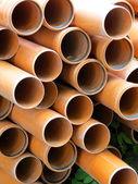 Orange pipes — Stock Photo