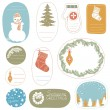 Christmas Tags — Stock Vector #12201735