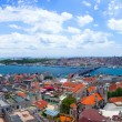 Royalty-Free Stock Photo: Panorama of the city and waterfront of Stambul in Turkey.