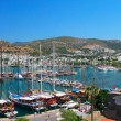 Royalty-Free Stock Photo: Panorama of the waterfront city of Bodrum in Turkey.