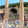 The ruins of Ephesus in Turkey — Stock Photo