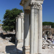 The ruins of Ephesus in Turkey - Stock Photo