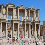 The ruins of Ephesus in Turkey — Stock Photo