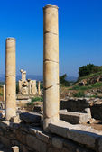 The ruins of Ephesus in Turkey — Stok fotoğraf