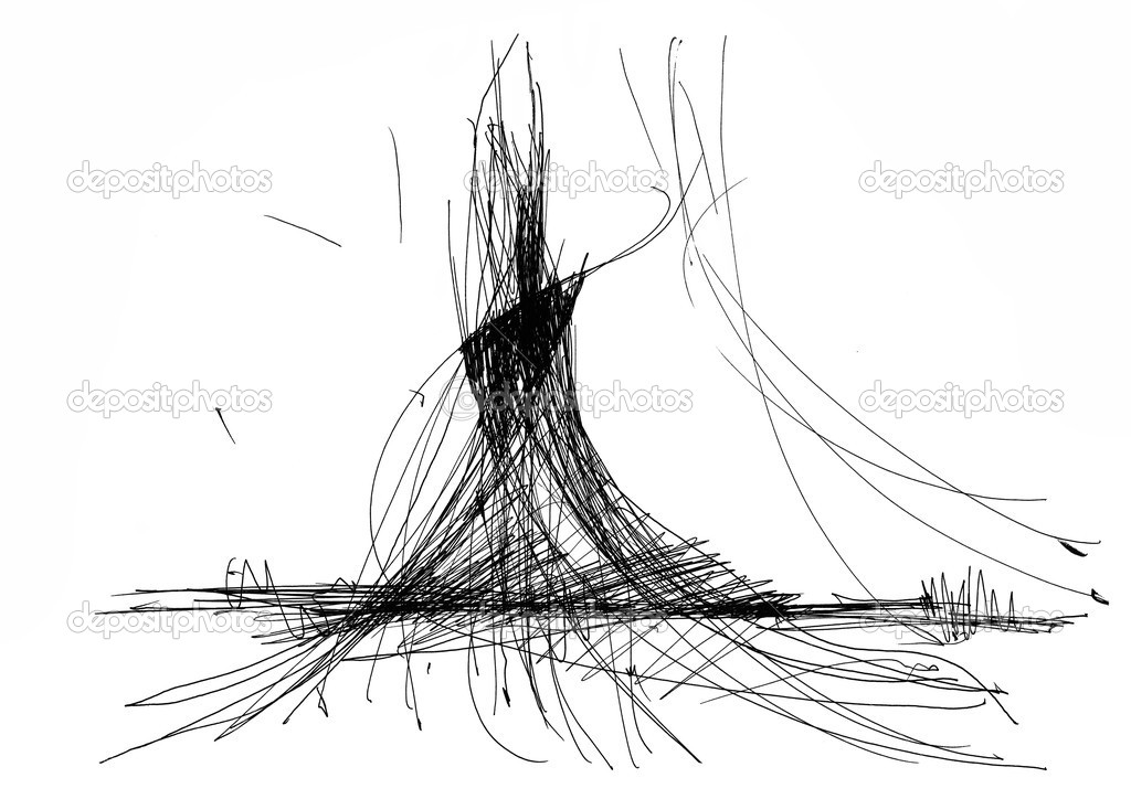 Line Drawing Volcano : Earthquake sketch templates