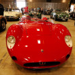 Постер, плакат: Red Maserati Barchetta classic car