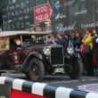 Brown Fiat 520 built in 1928 at the start of 2012 1000 Miglia — Stock Photo