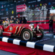 Red 1929 Mercedes 720 SSK at the start of 2012 1000 Miglia — Stock Photo