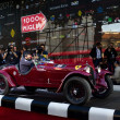 Stock Photo: Scalise and Claramunt start the 2012 edition of 1000 Miglia vintage car race they will win