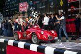 Rode 1948 fiat rg1 aan het begin van 2012 1000 miglia — Stockfoto