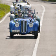 Four BMWs 328 during 1000 Miglia — Foto Stock #11765875