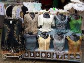 Vetrina per vestiti — Foto Stock