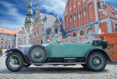 Parade Rolls Royce. — Stock Photo