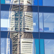 Turning Torso Reflection — Stock Photo