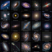 Galaxy Collection — Stock Photo