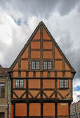 Jacob Hansens Hus gable end — Stock Photo