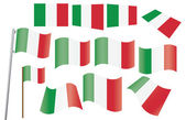 Flag of Italy — Stock Vector
