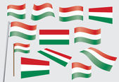 Flag of Hungary — Stock Vector