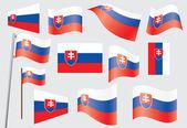 Flag of Slovakia — Stock Vector