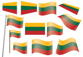 Flag of Lithuania — Stock Vector
