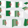 Flag of Algeria — Stock Vector