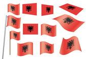 Flag of Albania — Stock Vector