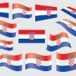 Flag of Croatia - Stock Vector