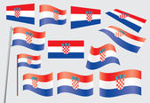 Flag of Croatia — Stock Vector