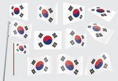 Flag of South Korea — Stock Vector