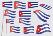 Flag of Cuba — Stock Vector