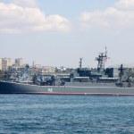 Постер, плакат: Landing ship Novocherkassk