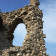 Ruins of fortress — Stock Photo