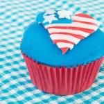 US-amerikanische cupcake — Stockfoto #10817603