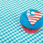US-amerikanische cupcake — Stockfoto #10817605