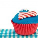 Amerikaanse cupcake — Stockfoto