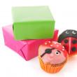 Child birthday presents — Stock Photo