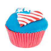 American cupcake — Стоковое фото