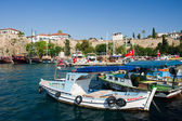 Harbor in Antalya — Stock Photo