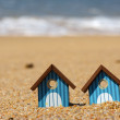 Beach huts — Stock Photo #11437319