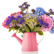 Bouquet pink and blue Hydrangea — Stok Fotoğraf #11552885