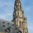 Tower of St Vaast church in Arras — Stock Photo