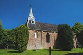 Dutch church in Westeremden — Stock Photo