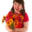 Getting colorful flowers — Stock Photo #12041904