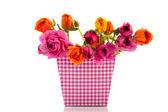 Colorful bouquet buttercups — Stock Photo