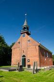 Dutch church in province Groningen — Stock Photo